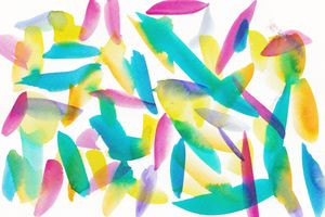 13 | Watercolor Pattern Abstract