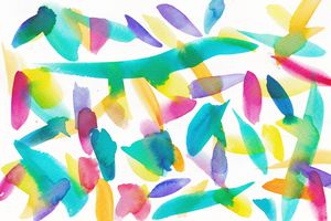 14   | Watercolor Pattern Abstract