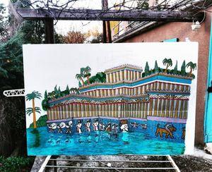 Jardin suspendu de Babylone