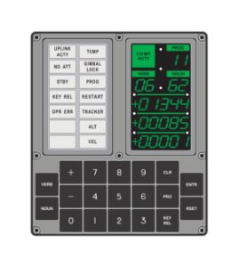 Apollo Display and Keyboard (DSKY) - Space Exploration GenZ