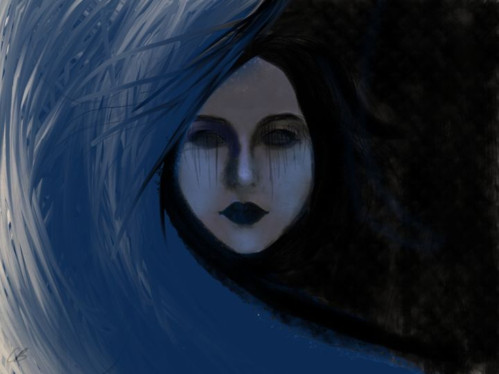 In The Dark - d3claired art