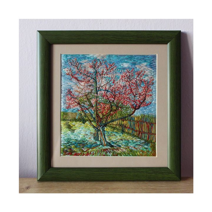 Van Gogh's Variation by Hand Embroid - Atelier Picea