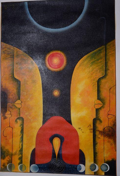 Indian Modern Art - Art Fair Gallery, Jaipur