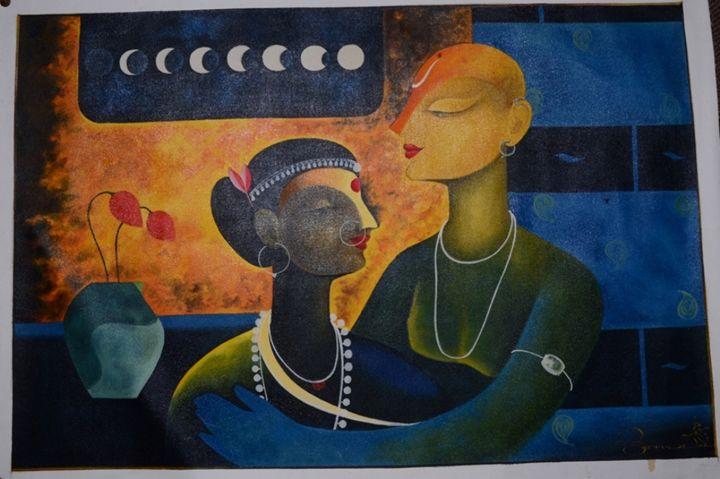 Ancient Love - Art Fair Gallery, Jaipur