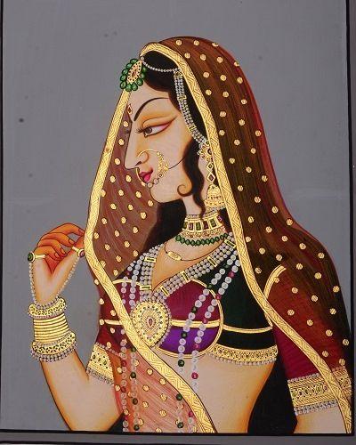 Ancient Indian Beauty - Art Fair Gallery, Jaipur