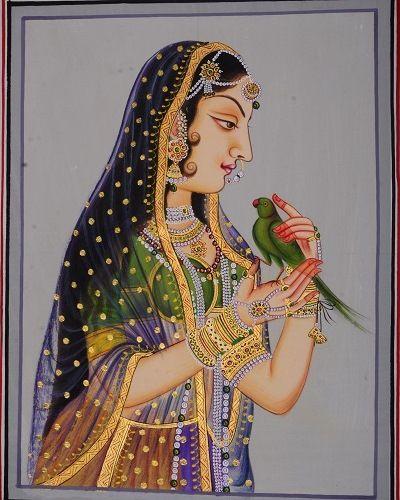 Traditional Indian Princess - Art Fair Gallery, Jaipur