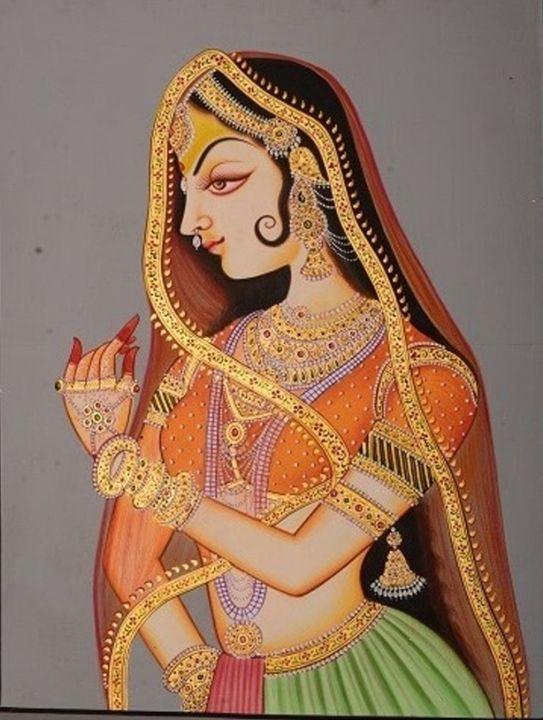 Traditional Indian Rajasthani Style - Art Fair Gallery, Jaipur