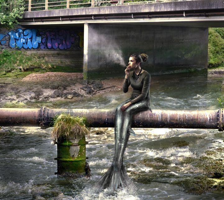 Urban Mermaid - V J Paul