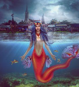 Golden Goddess Mermaid