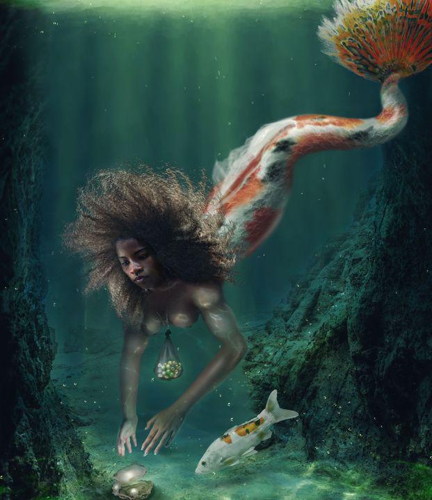 Pearl Mermaid - V J Paul