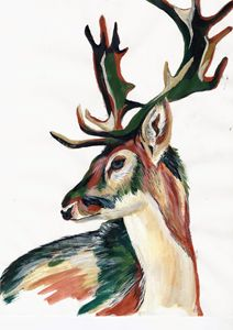 Camouflage Deer