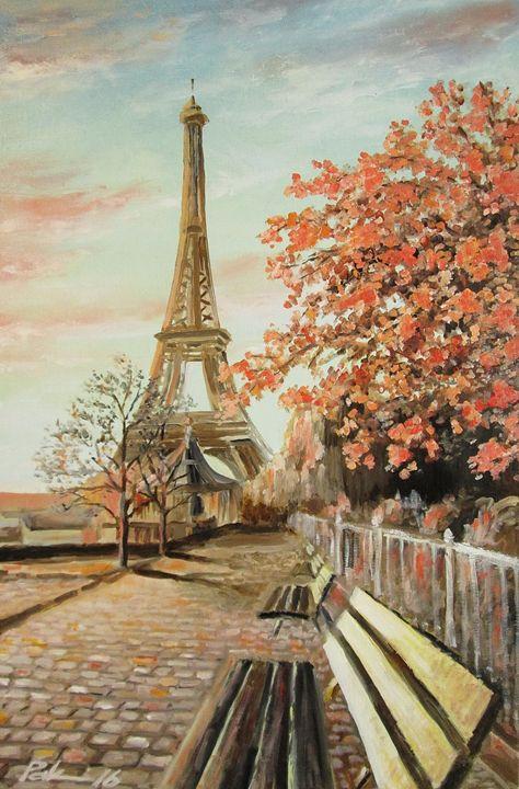 The sky over Paris - Oleh Rak
