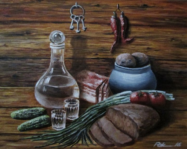 Still life with keys - Oleh Rak