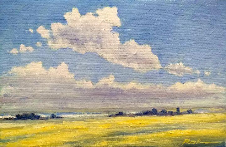 Horizon. Before the rain - Oleh Rak
