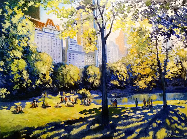 Weekend in Central Park - Oleh Rak