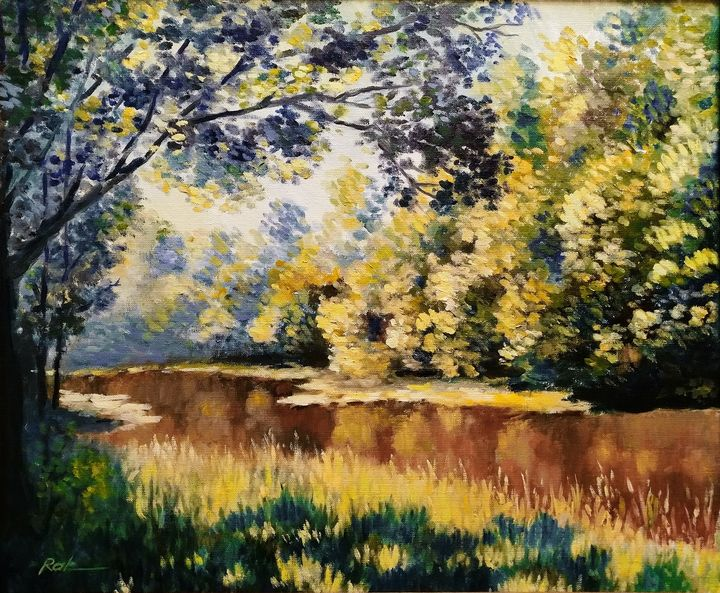 Midday by the river - Oleh Rak