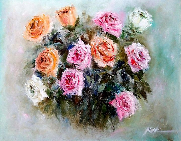 Bouquet of roses - Oleh Rak