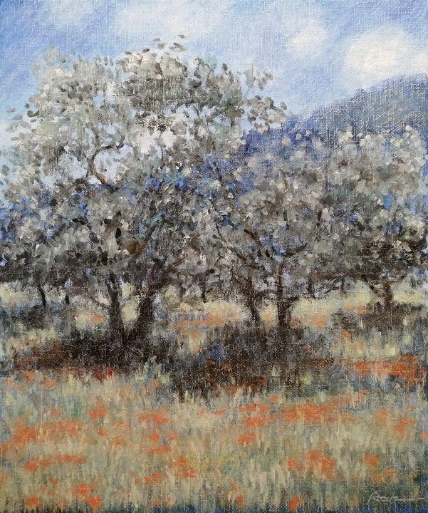 Olive trees - Oleh Rak