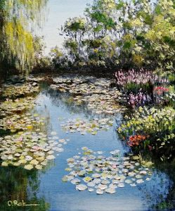 Pond in Giverny