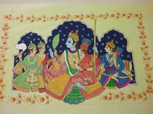 Ancient Ramayan painting