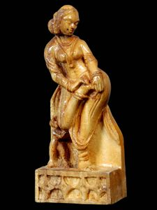 KHAJURAHO - wood carving