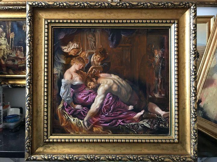 Reproducere celebra tablou ulei - Preda Bianca Angelica