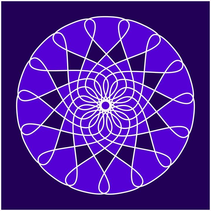 Purple - Digital Art