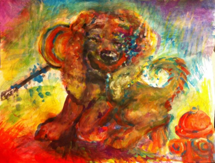 Happy Dog Dance - Andrea