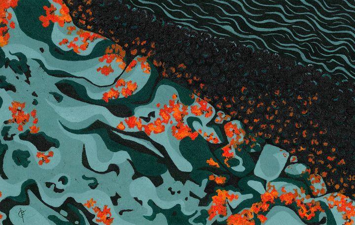 Two colors riverbed - Fernanda Tosoni