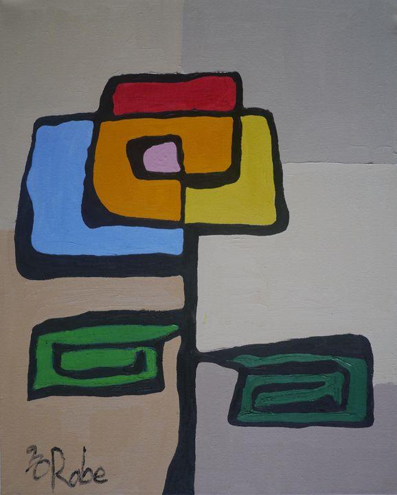 flower no 5 - Robert Rabe