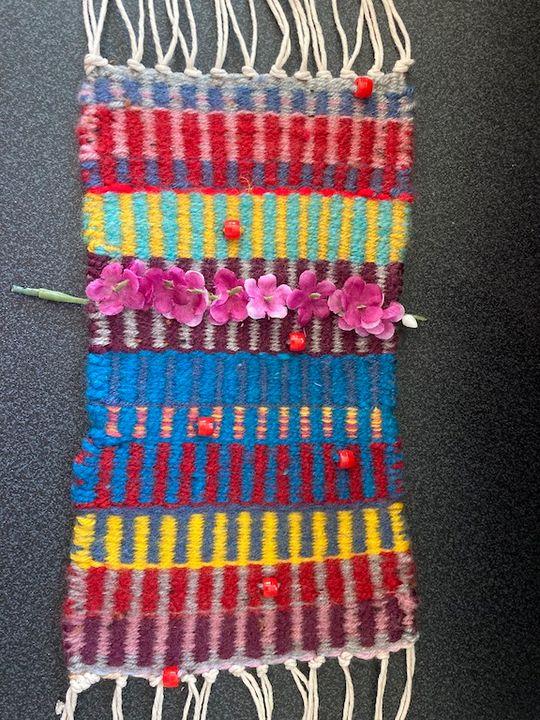 Weaving for NAEA - Lisa Kaplan