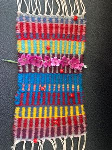 Weaving for NAEA - Lisa Kaplan