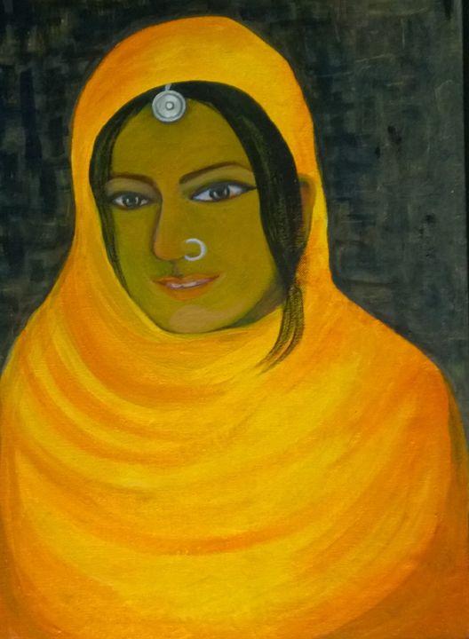 Indian Tribal Woman - Srikalpameya