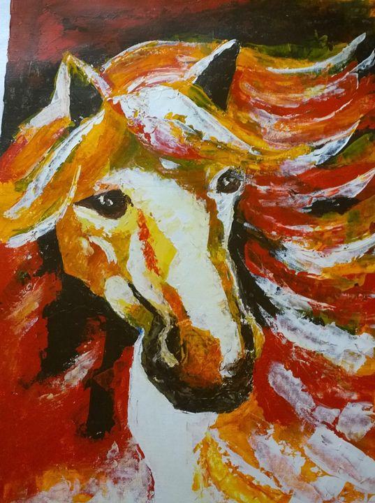 Horse in Action - Srikalpameya