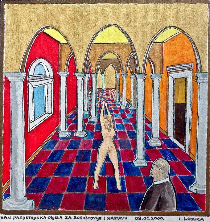 MINISTER'S DREAM - Ivan Lozica