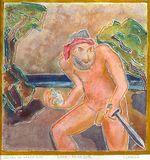 Original painting, acid free paper