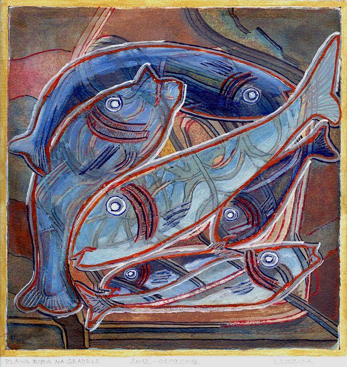 OILY FISH GRILLED - Ivan Lozica