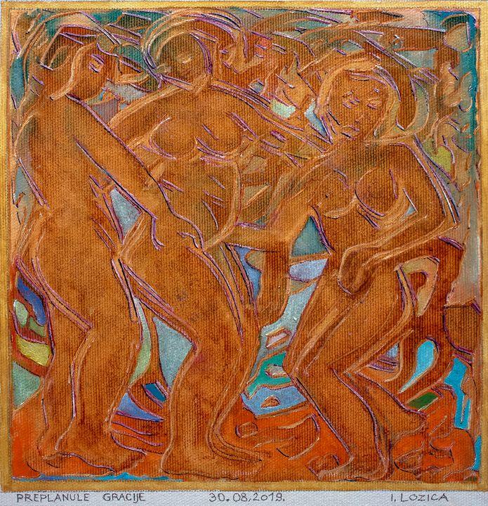 TANNED GRACES - Ivan Lozica