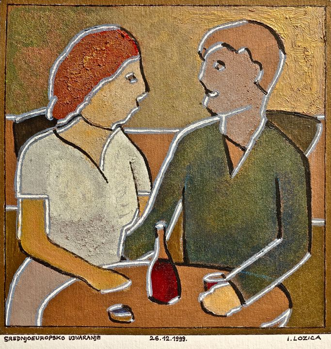 MIDDLE EUROPEAN COURTING - Ivan Lozica