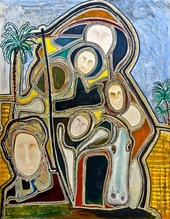 FLIGHT INTO EGYPT '94 - Ivan Lozica