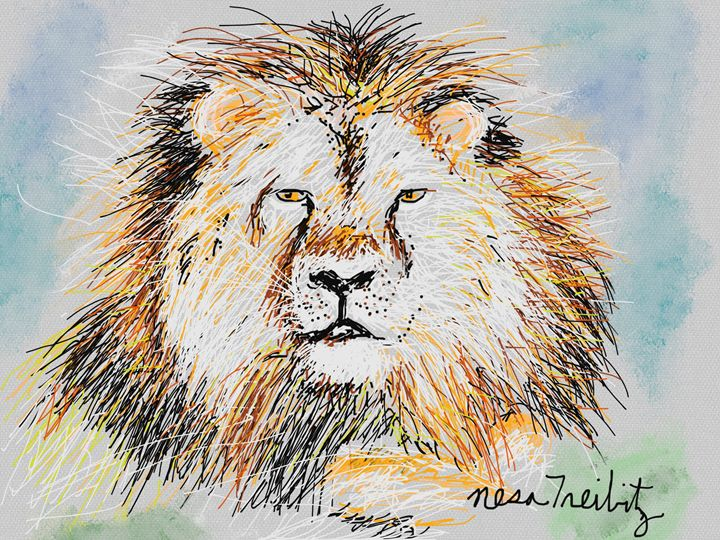 Cecil the Lion - Nesa's Art