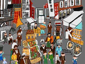 The Lower East Side - Nesa's Art