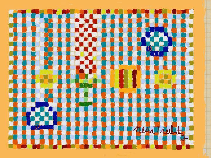 Abstract Composition - Nesa's Art