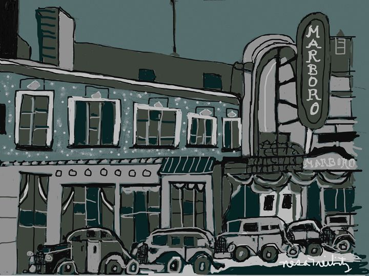 Bensonhurst Brooklyn - Nesa's Art