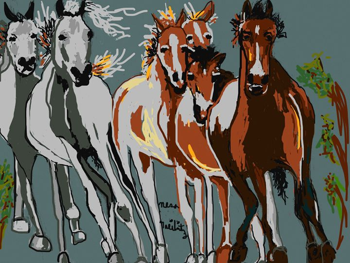 Horses - Nesa's Art