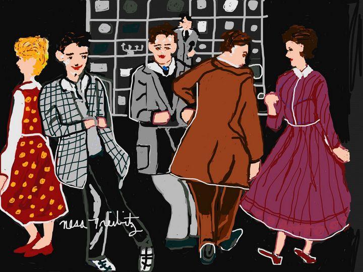 American Bandstand - Nesa's Art