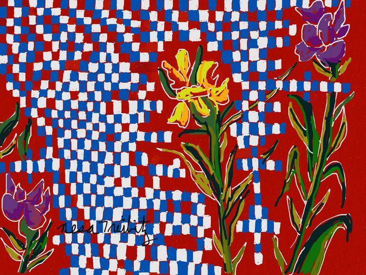 Irises - Nesa's Art