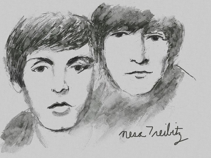 Lennon and McCartney - Nesa's Art