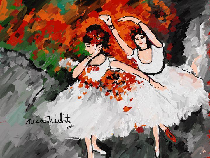 Beautiful Ballet Dancers - Nesa's Art