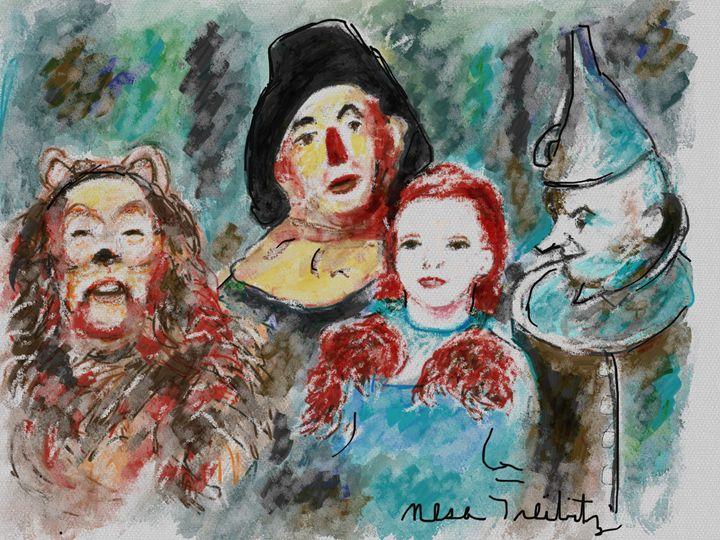 Wizard of Oz - Nesa's Art